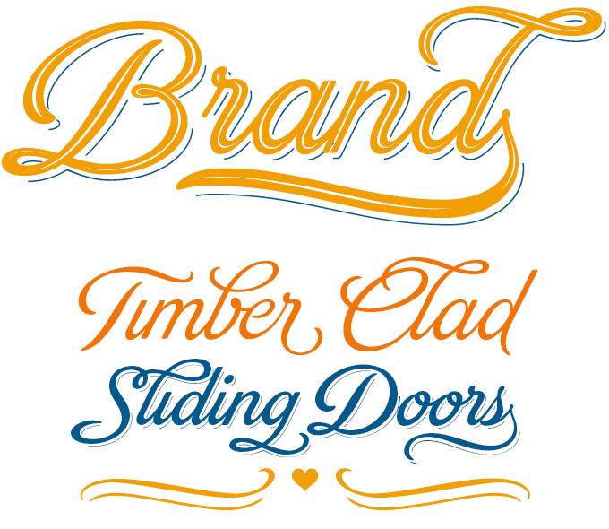 Brand font sample