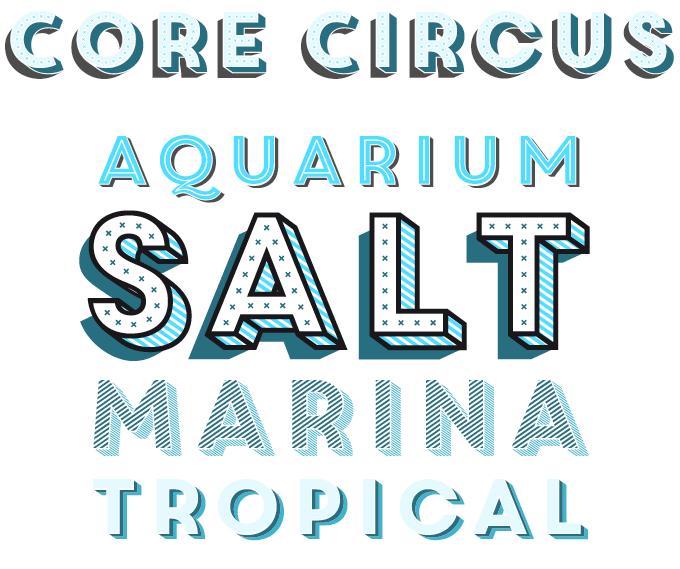 Core Circus font sample
