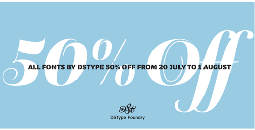 DS Type Summer Sale
