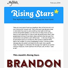Rising Stars February 2014