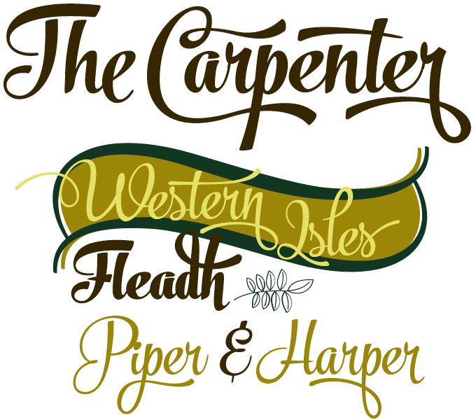 The Carpenter font sample