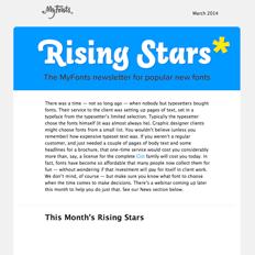 Rising Stars, March 2014