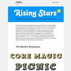 Rising Stars April 2014