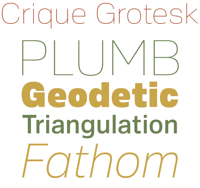 Crique Grotesk font sample