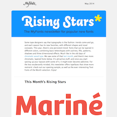 Rising Stars May 2014