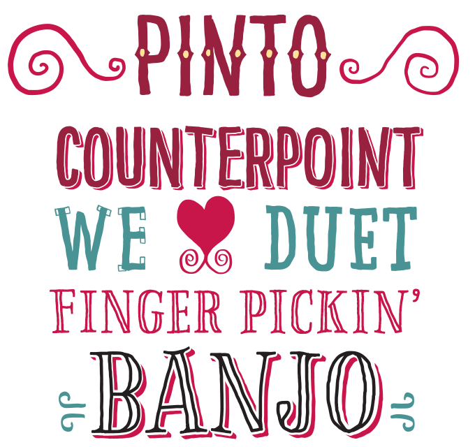 Pinto font sample