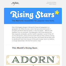 Rising Stars June 2014