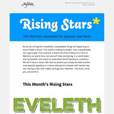 Rising Stars July 2014
