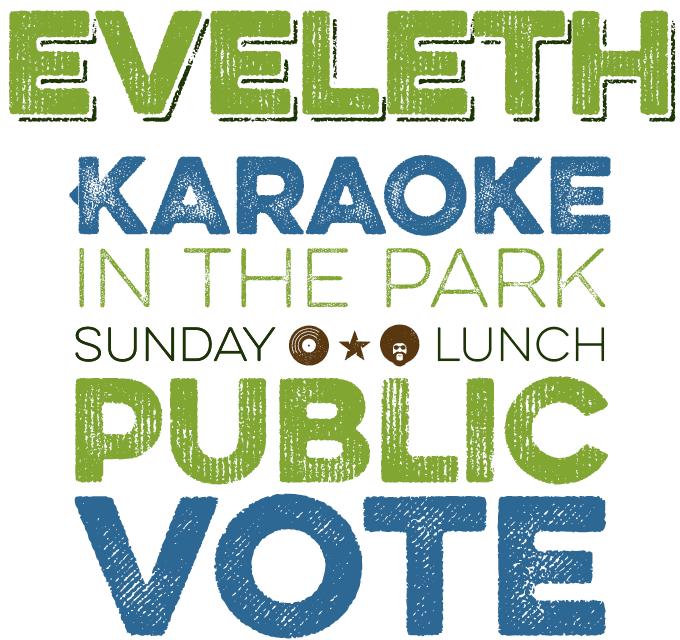 Eveleth font sample