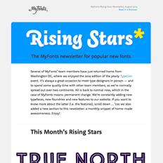 Rising Stars August 2014