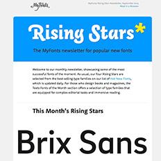 Rising Stars September 2014