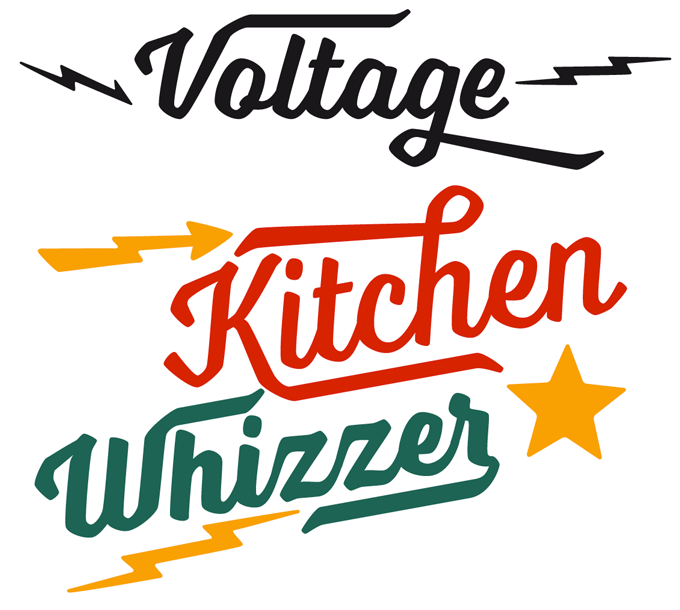 Voltage font sample