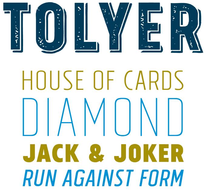 Tolyer font sample