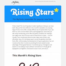 Rising Stars November 2014