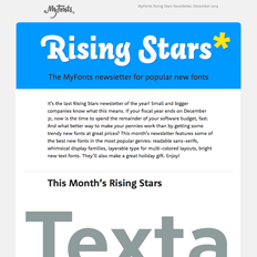 Rising Stars December 2014