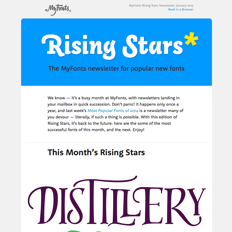 Rising Stars January 2015