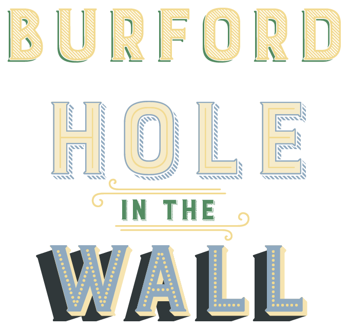 Burford Font Sample