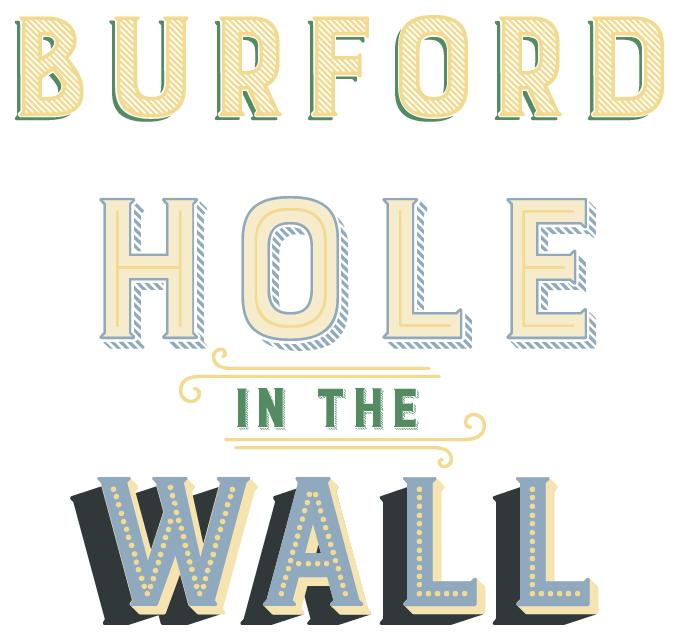 Burford Font Sample