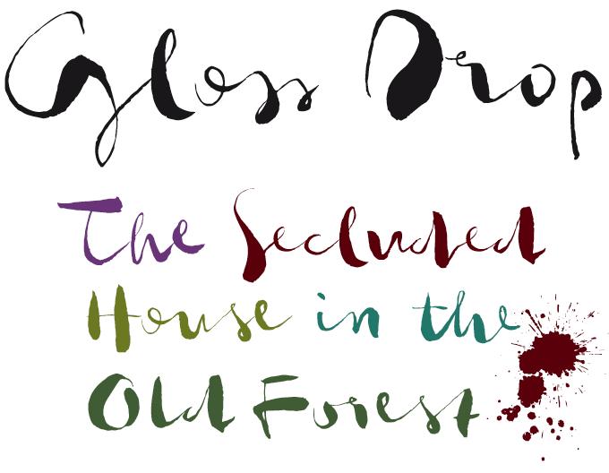 Gloss Drop Font Sample