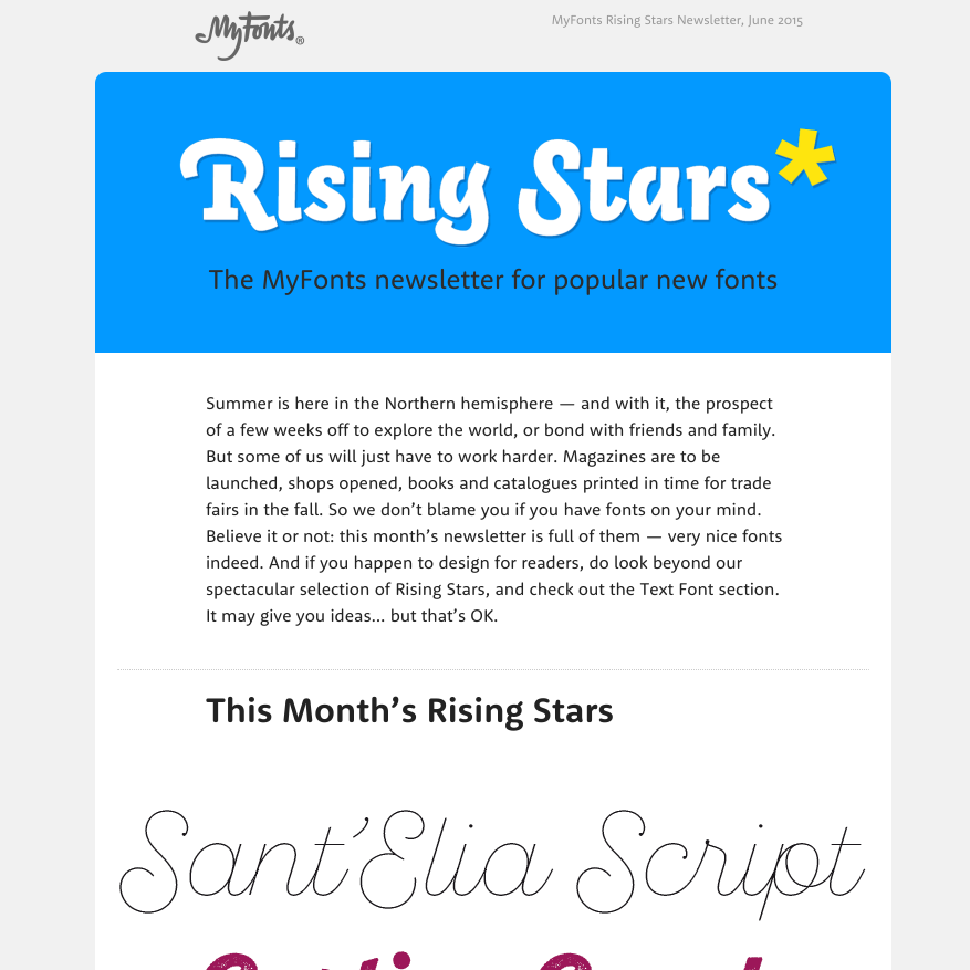 Rising Stars June 2015