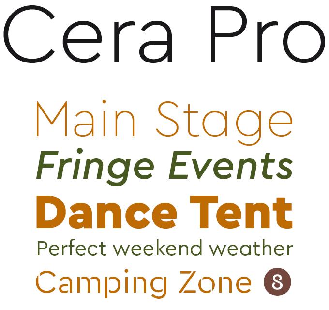 Cera Pro Font Sample