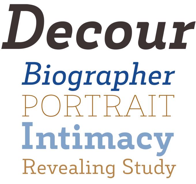 Decour Font Sample