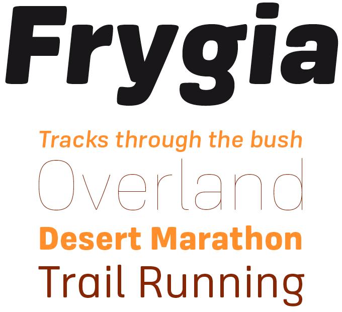 Frygia Font Sample