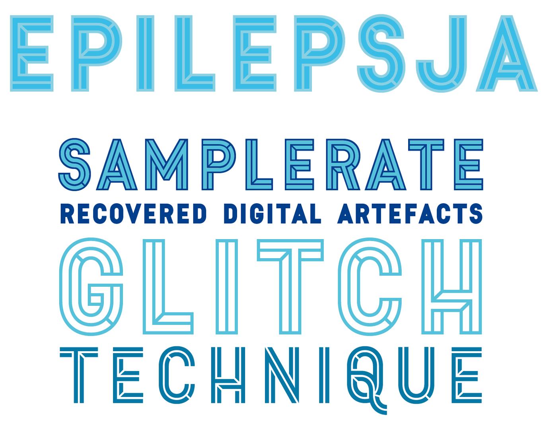 Epilepsja Font Sample