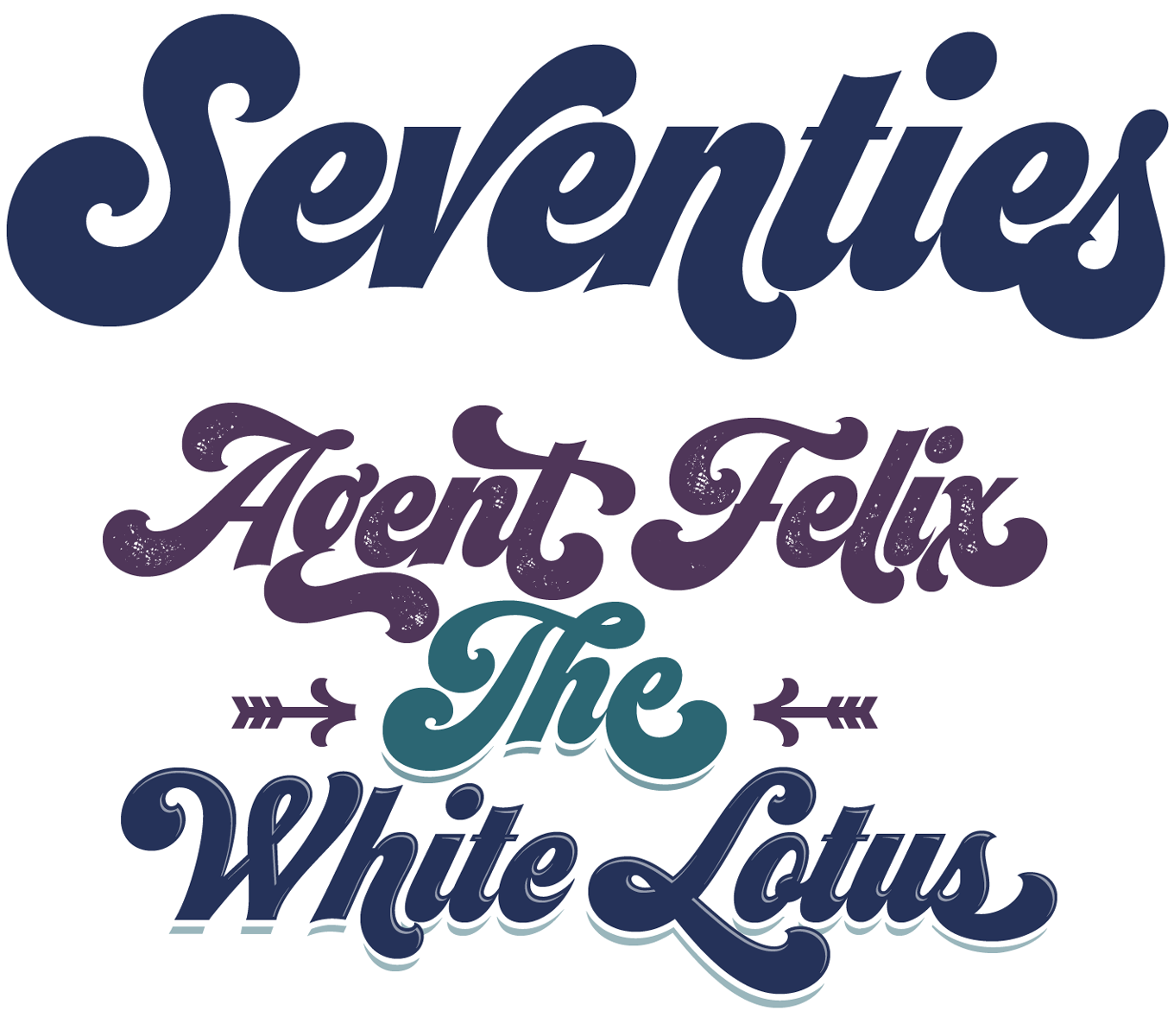 Seventies Font Sample
