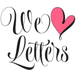 Wishes Script Font Flag