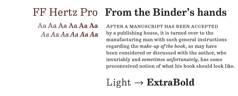 Hertz Font Sample