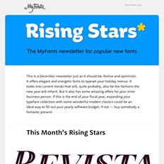December 2015 Rising Stars