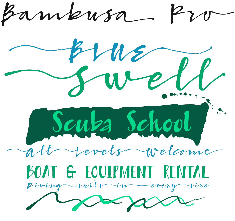 Bambusa Pro Font Sample