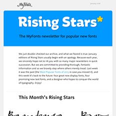 Rising Stars January 2016