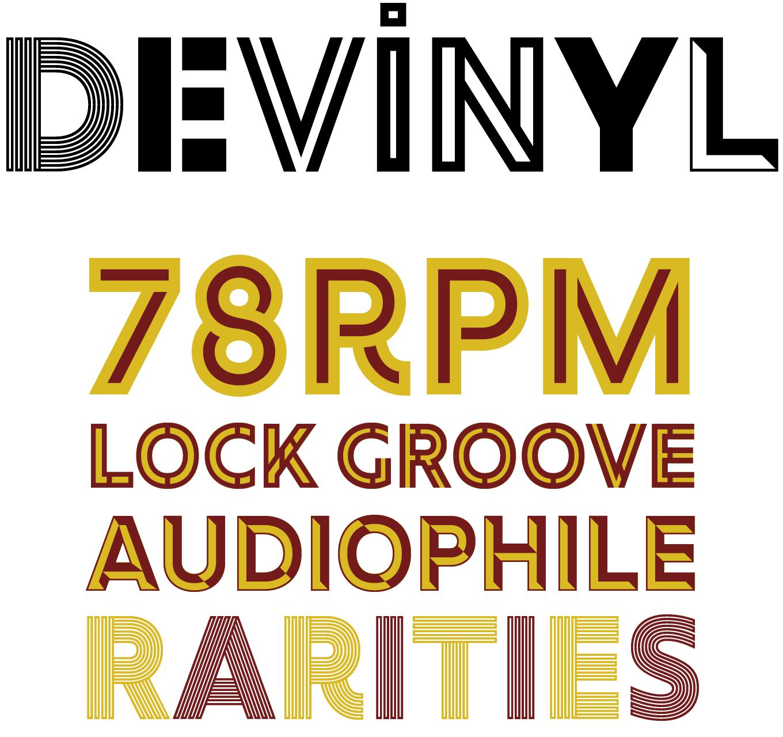 Devinyl Font Sample