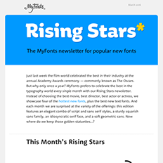 Rising Stars March 2016