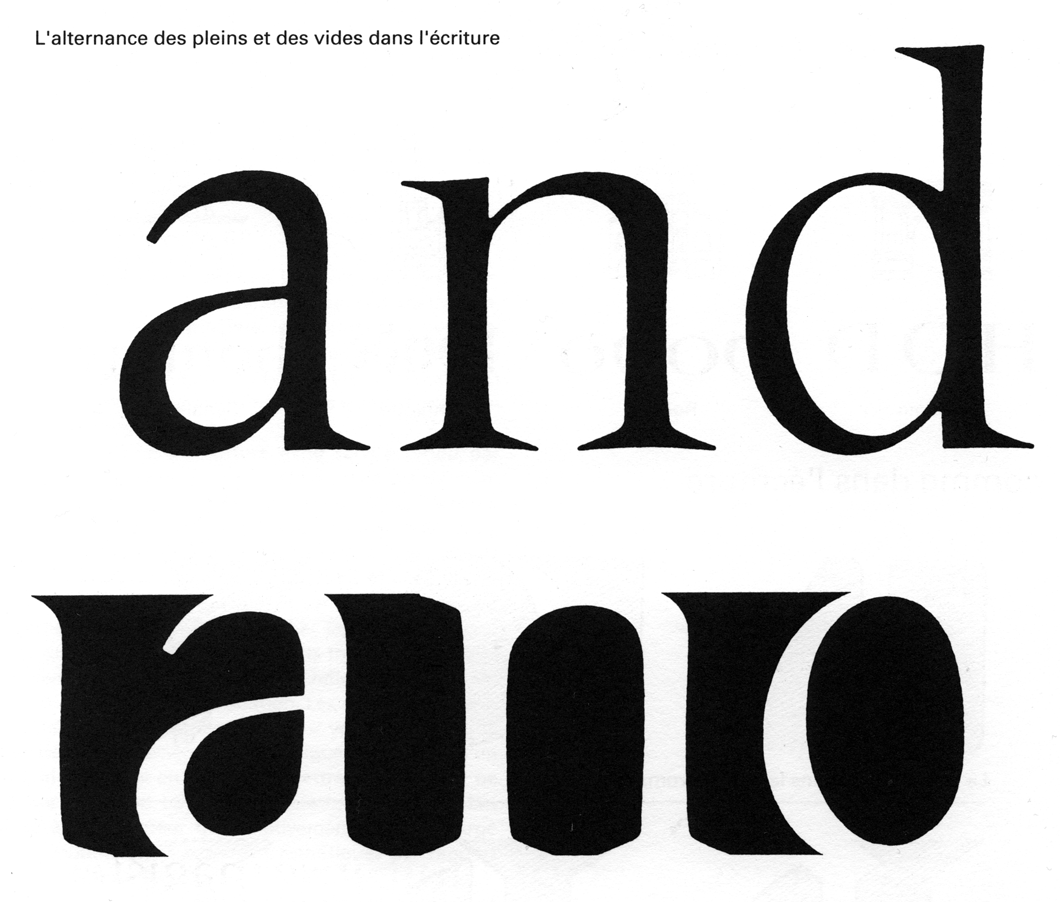 The work of Adrian Frutiger