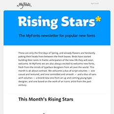 Rising Stars April 2016