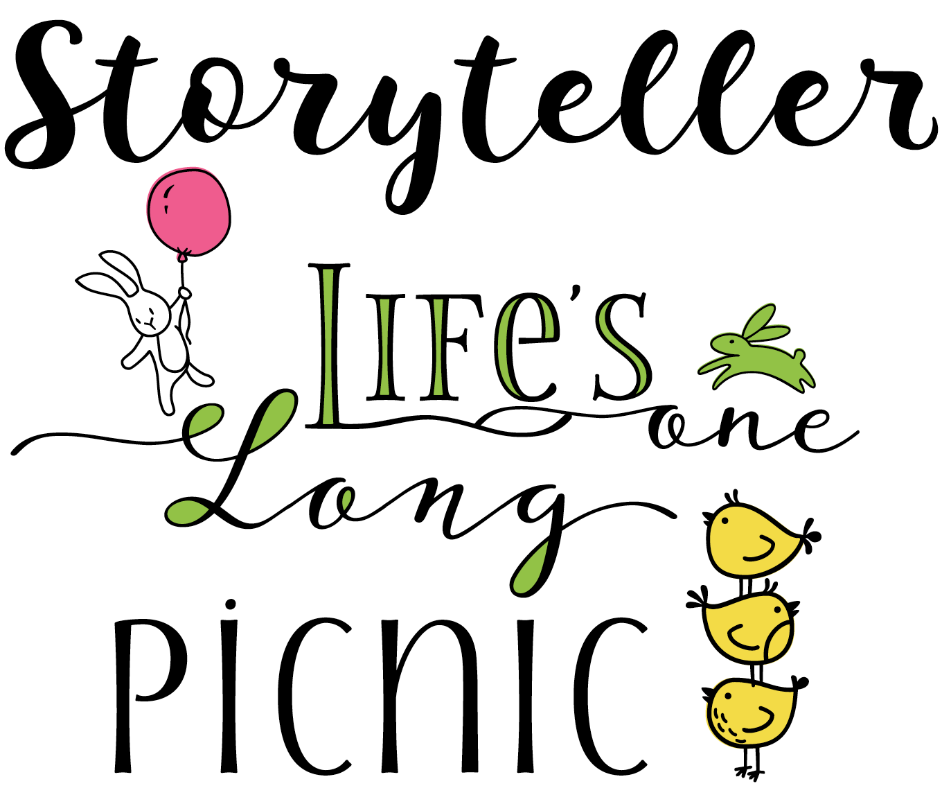 Storyteller Font Sample