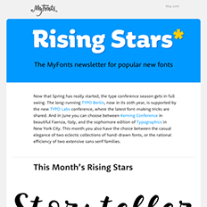 Rising Stars May 2016
