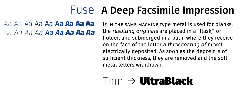 Fuse Font Sample