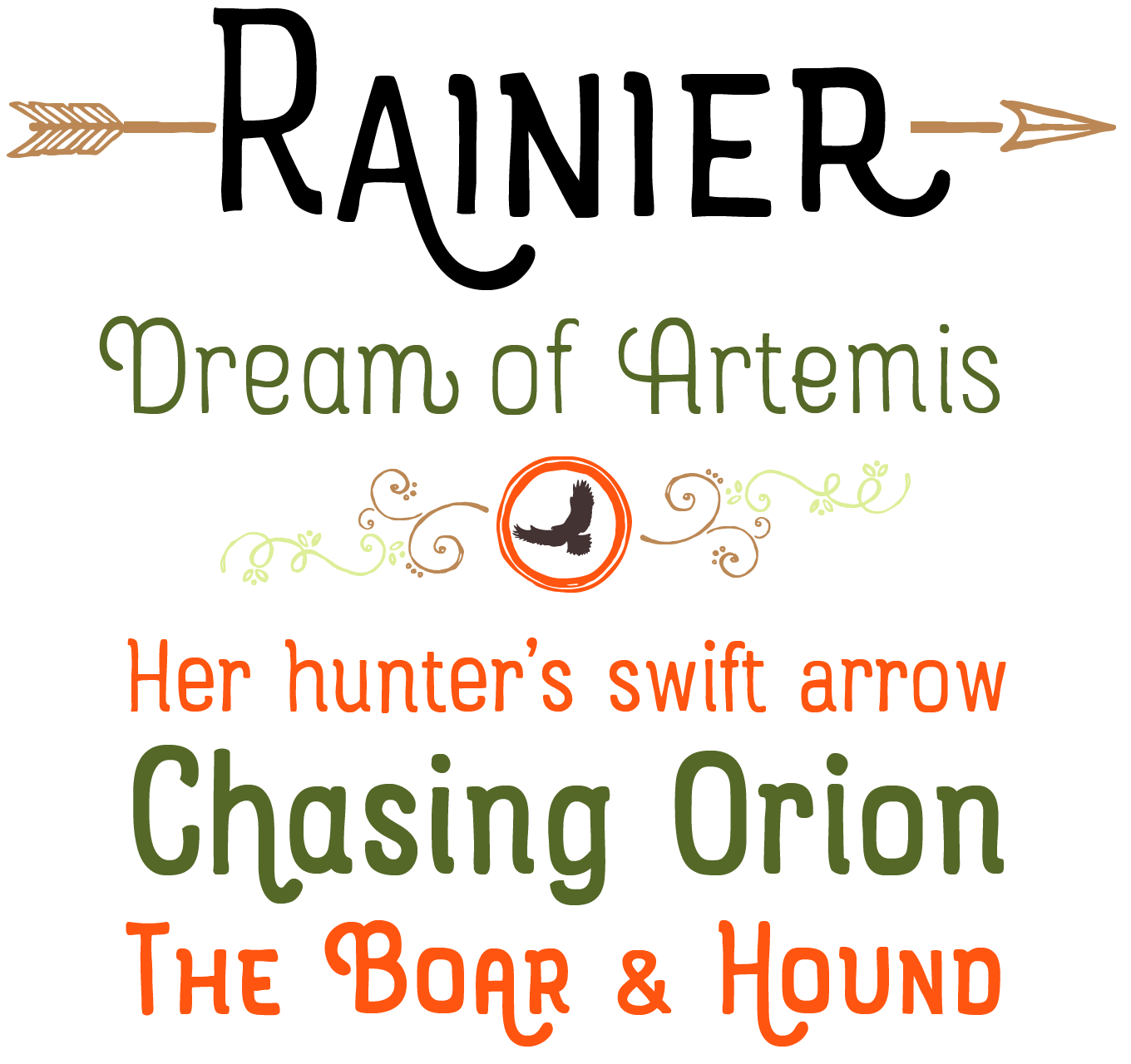 Rainier Font Sample