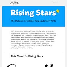 Rising Stars August 2016