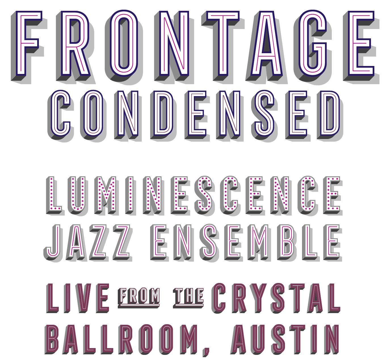 Frontage Condensed Font Sample