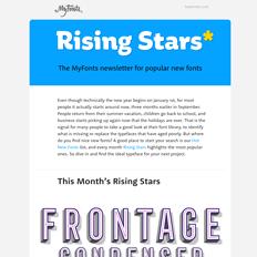Rising Stars September 2016