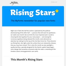 Rising Stars October 2016