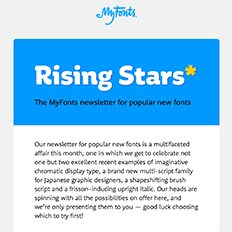 Rising Stars Newsletter, February 2017