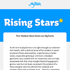 April Rising Stars Newsletter