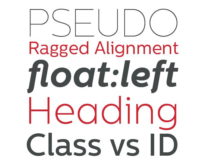 Centrale Sans font sample