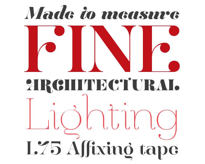 Hera Big font sample